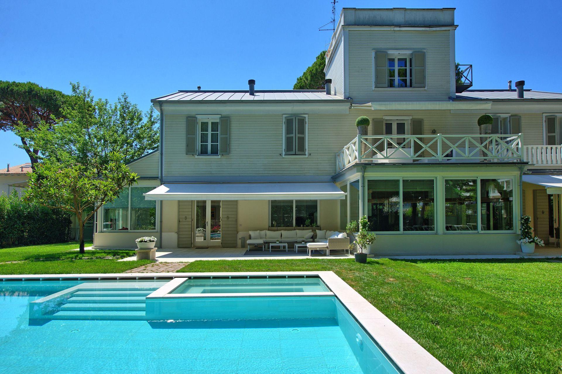 Piscina Con Jacuzzi.Villa Guidi Casa De Vacaciones Con 5 Habitaciones Con Una